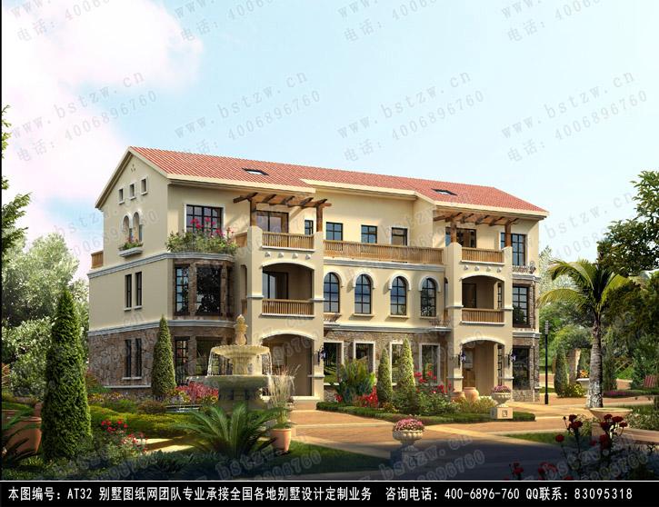 供应信息 湖南永云别墅设计图纸超市有限公司 永云别墅at32特种建筑