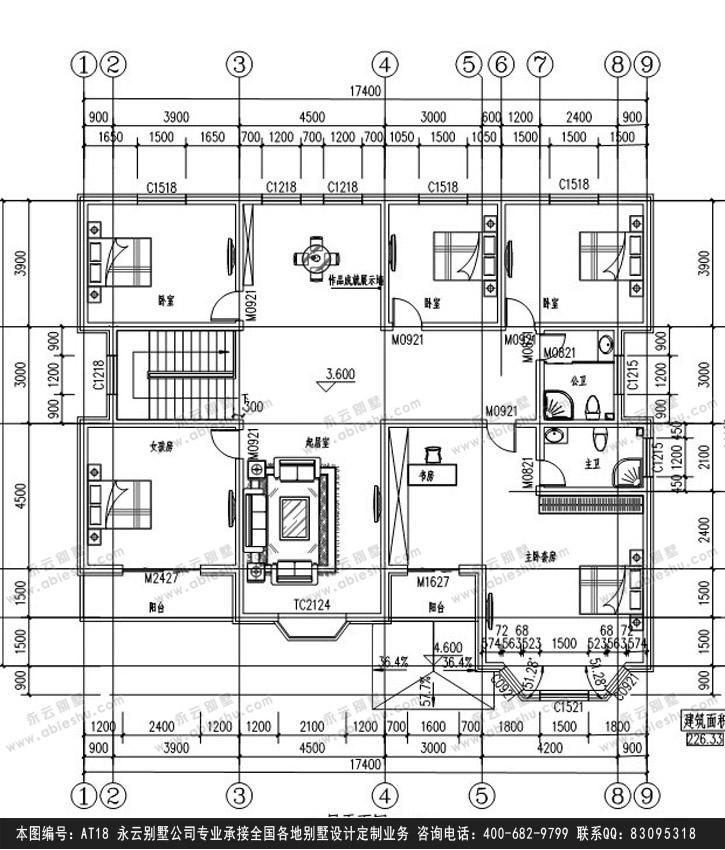 917别墅设计施工图纸