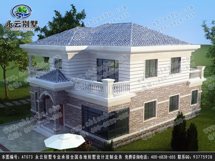 永州AT073图纸简洁别墅二层设计施工图纸12大气怎样分类统计图片