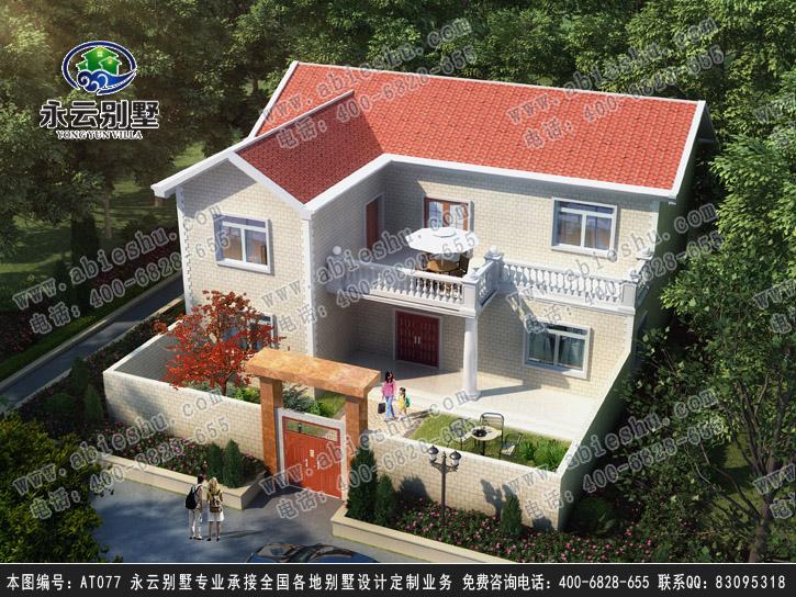 三屋别墅屋顶造型