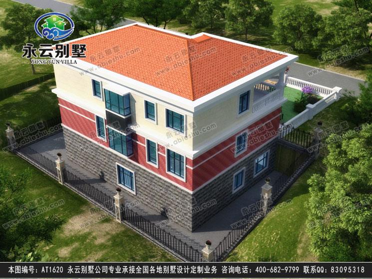 【永云别墅at1620二层带地下室别墅建筑设计图纸13