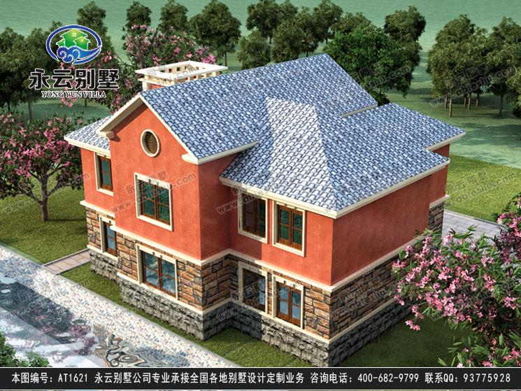 【永云别墅at1621二层现代农村欧式别墅建筑图纸13