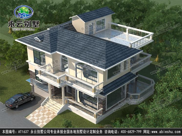 二层别墅设计图纸