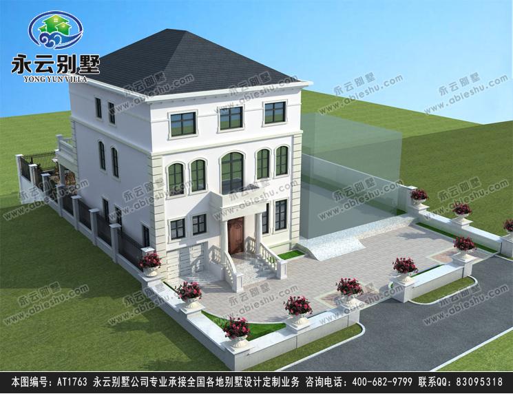 三层法式别墅