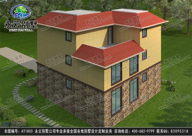 三層別墅效果圖