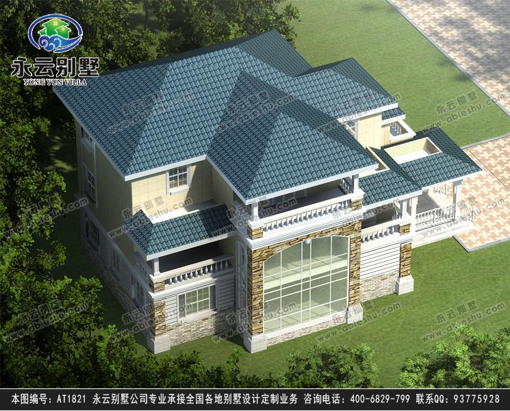 三层复式别墅图