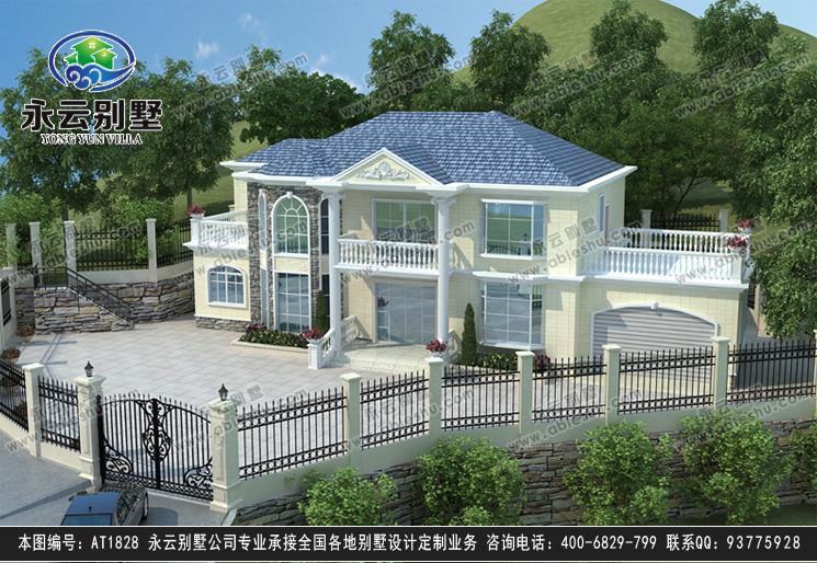 二层别墅设计