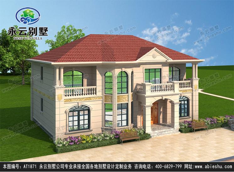二层别墅效果图