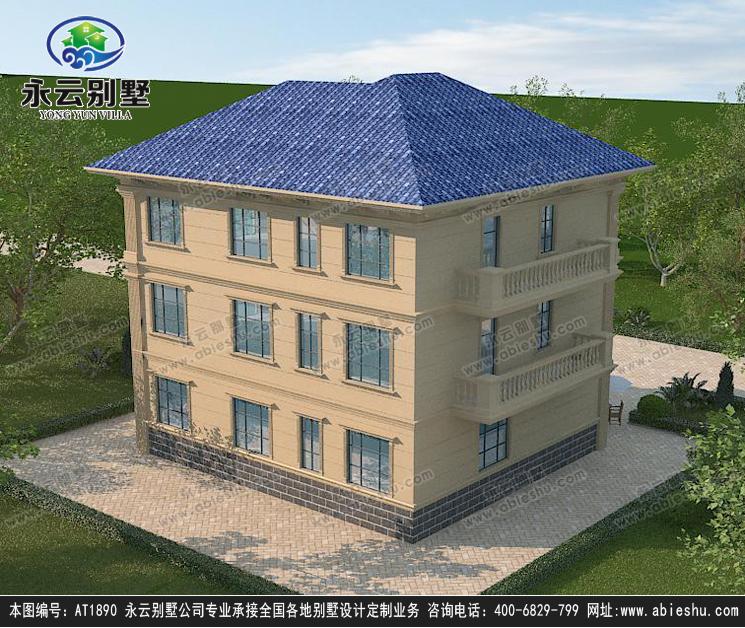 三层别墅设计