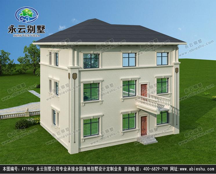 三层欧式别墅