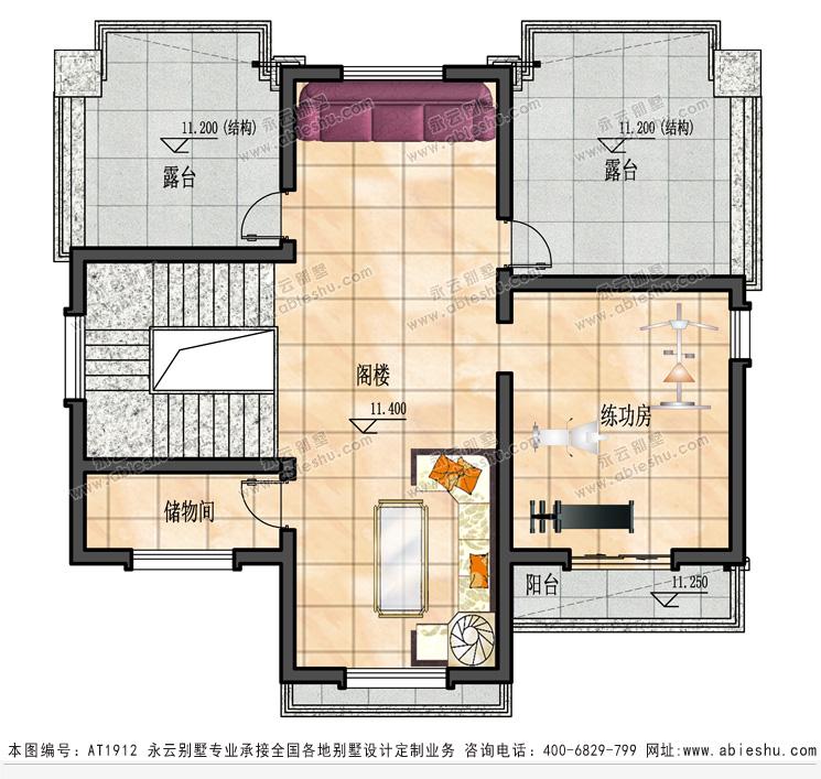 阁楼层施工图