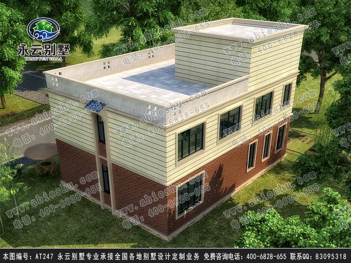 永云图纸建筑设计十字绣平安出入别墅图片