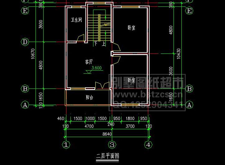 300豪华三层别墅施工图纸别墅设计图纸