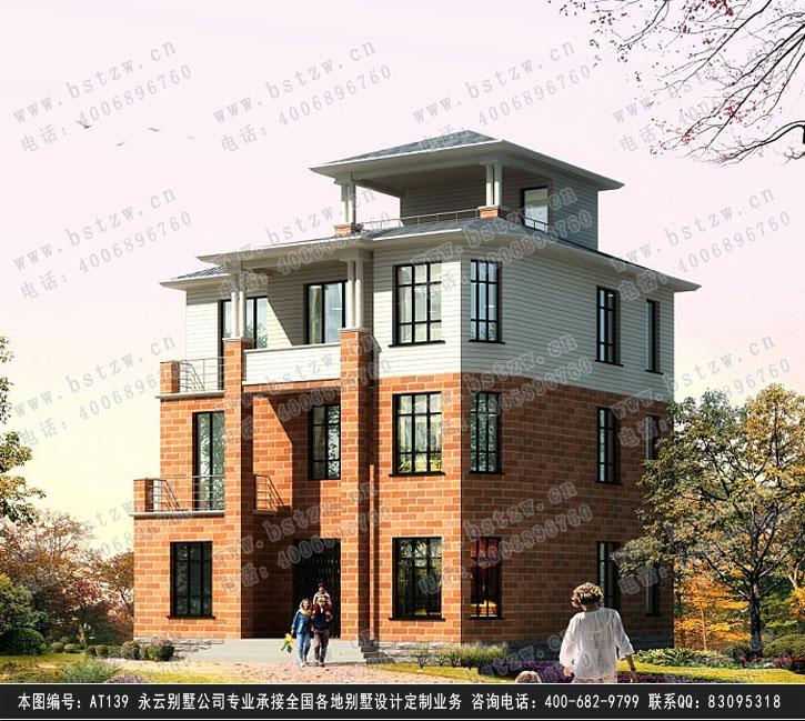369欧式豪华三层别墅施工图纸别墅设计图纸