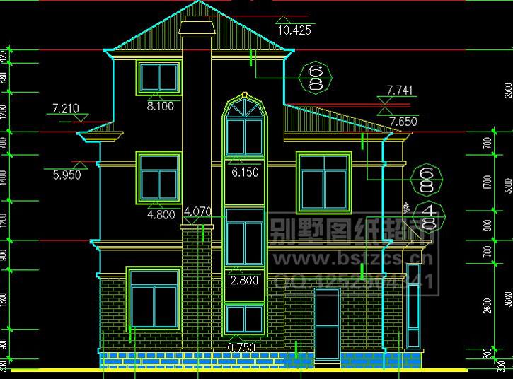 461别墅设计图纸