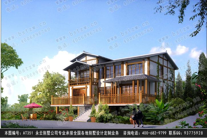 651二层豪华别墅施工图纸别墅设计图纸