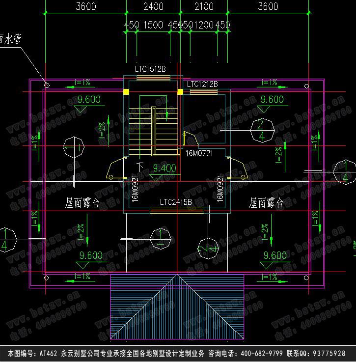 662豪华三层别墅施工图纸别墅设计图纸