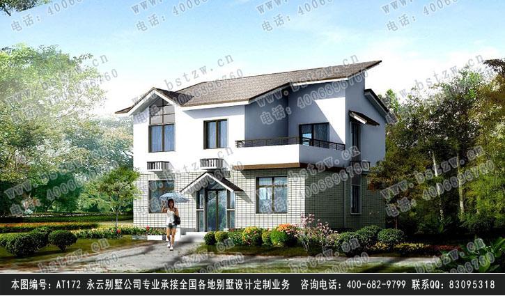 别墅设计图纸10m×8m