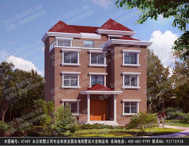 779号4层现代别墅施工图纸别墅设计图纸