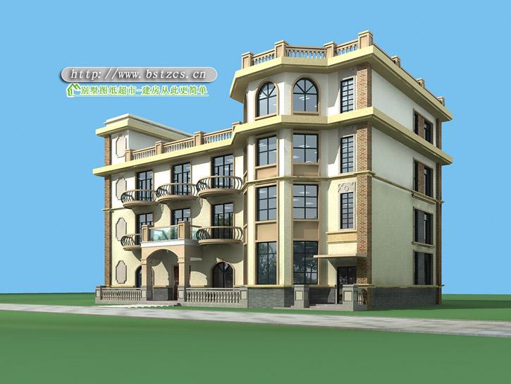 807号4层现代别墅施工图纸别墅设计图纸