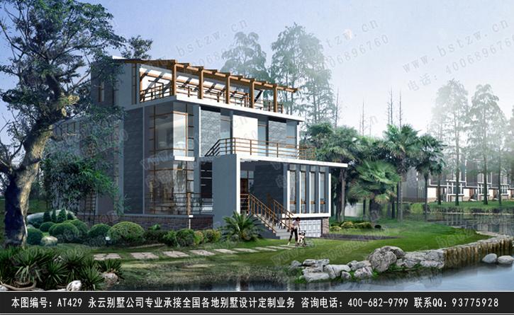 809号4层现代别墅施工图纸别墅设计图纸