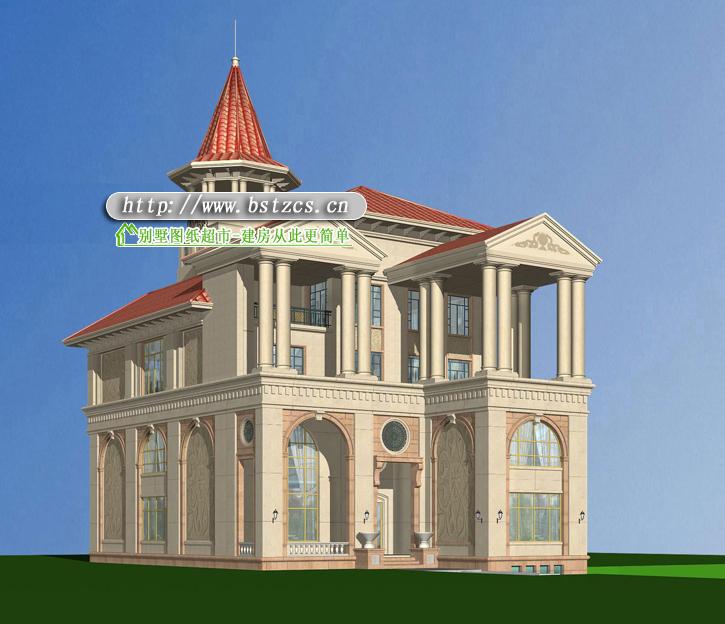 839号4层现代别墅施工图纸别墅设计图纸