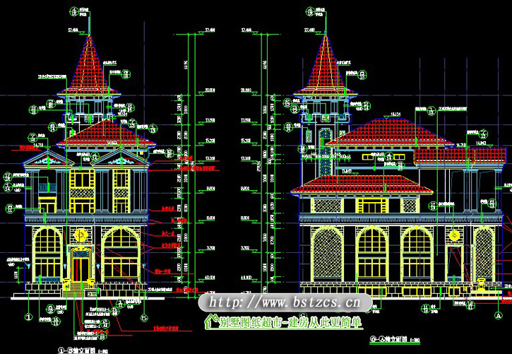 839号4层现代别墅效果图