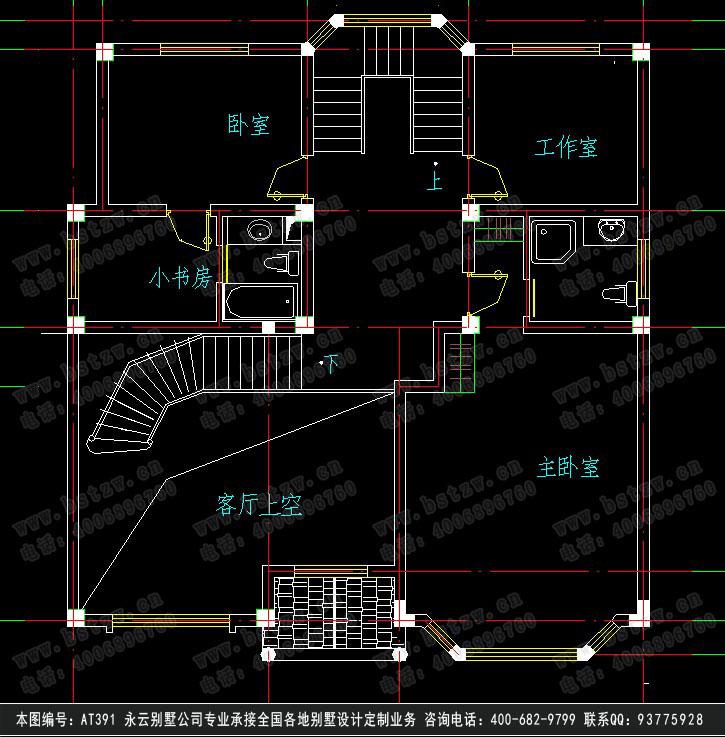 908别墅设计施工图纸