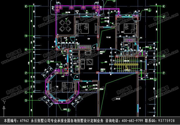 918别墅设计施工图纸