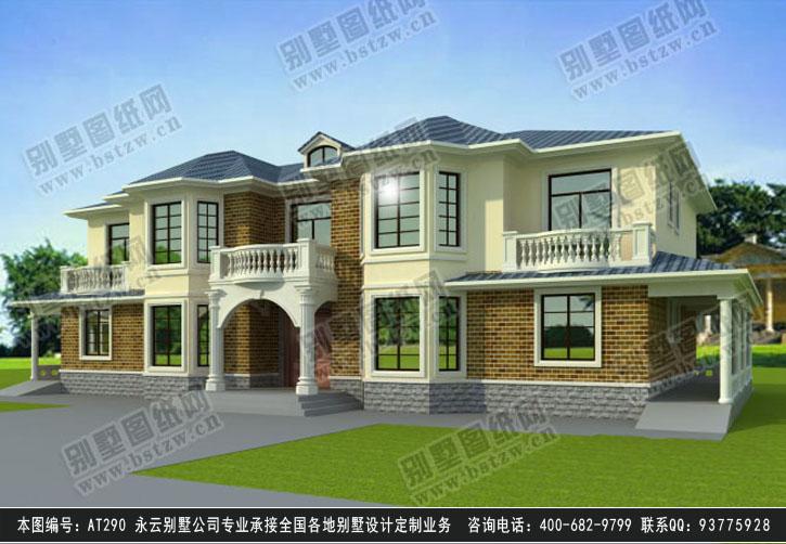 920欧式豪华三层别墅施工图纸别墅设计图纸