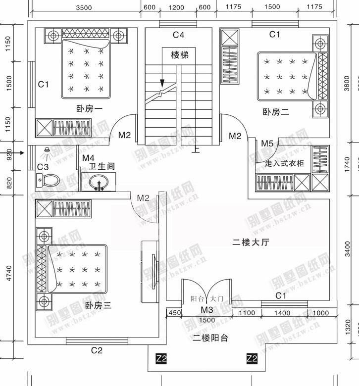 931别墅设计施工图纸