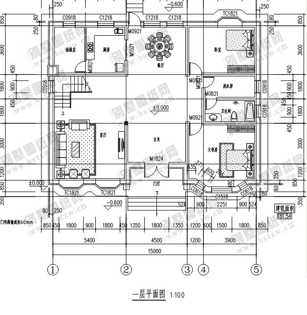 941三层别墅效果图