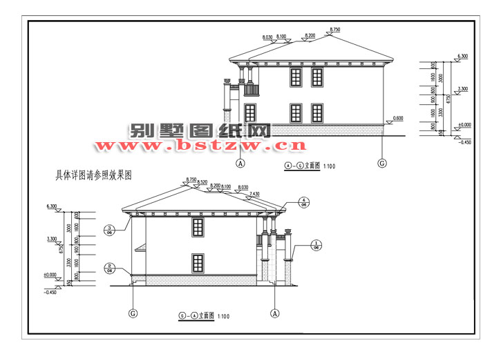 7米(含屋顶)坡屋顶;结构形式:砖混结构;