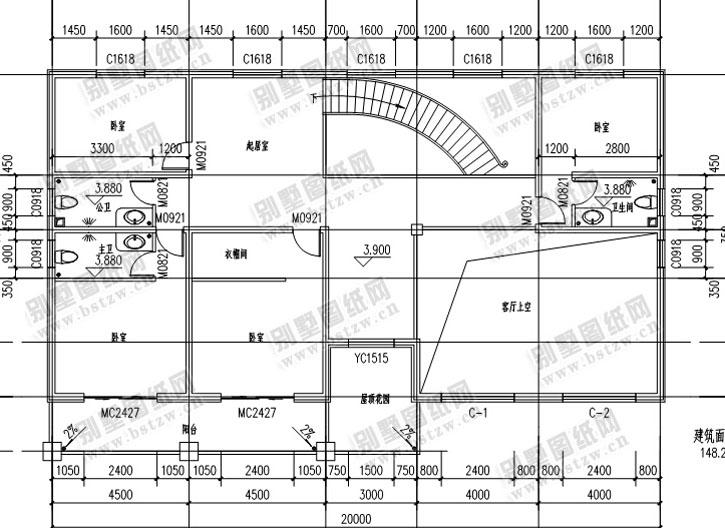 946别墅设计施工图纸