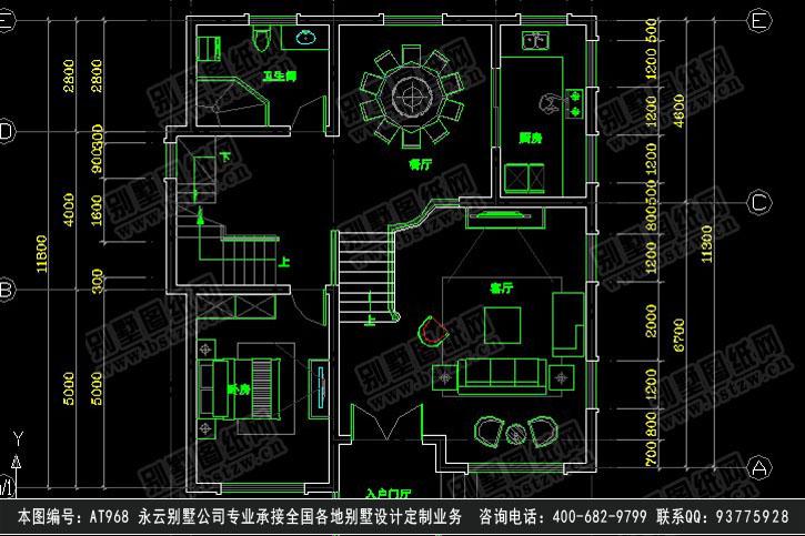 三层别墅电路设计