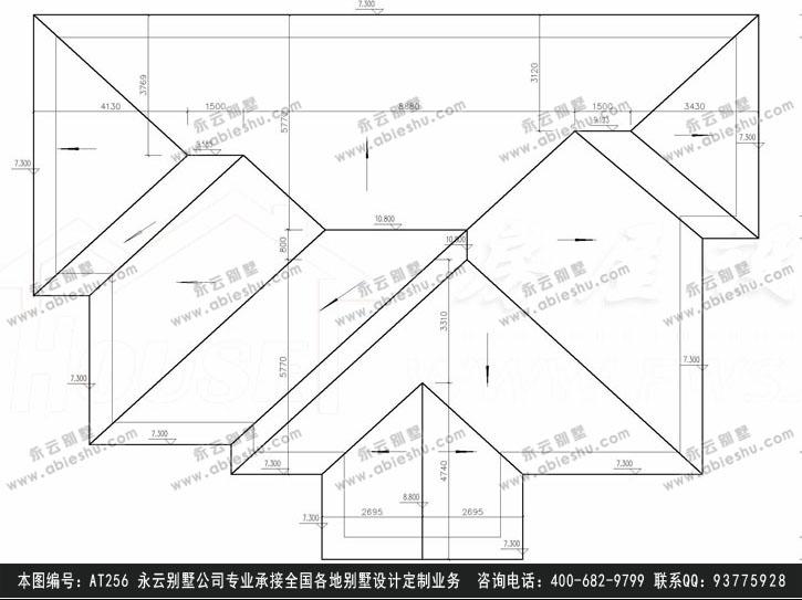 施工图纸别墅设计图纸